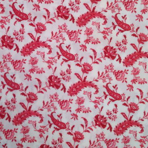 Chloe-Red-Cotton-Print