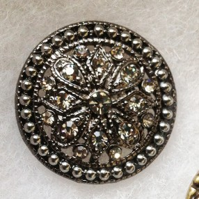 Grace-antique-silver-button