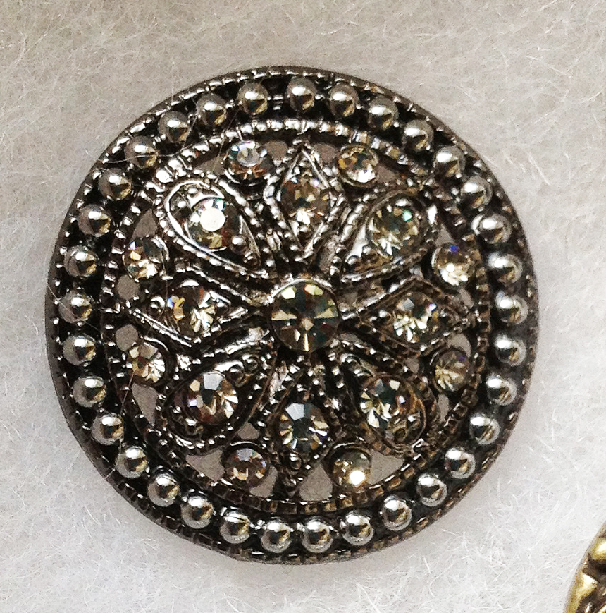 Vintage Silver Buttons 27