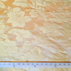 Silk Damask Honey Gold