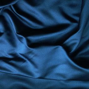 Silk Face Satin Marine Blue