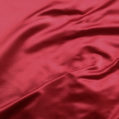 Silk Face Satin Ruby Red
