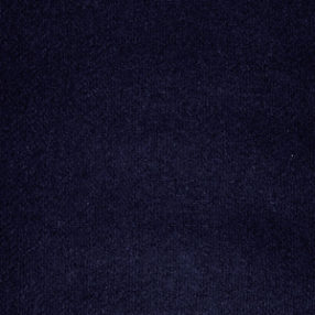 Wool Flannel Navy Blue