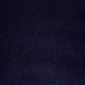 Wool Flannel Navy Blue