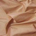 cream and rose mini stripe silk taffeta