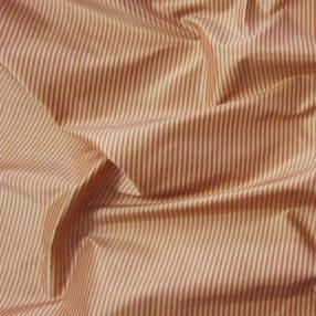 cream and rose mini stripe silk taffeta
