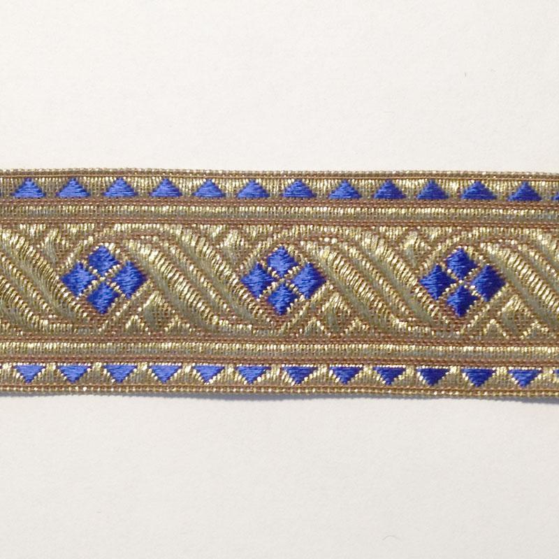Blue Galon Trim 1 1 2 Quot Renaissance Fabrics